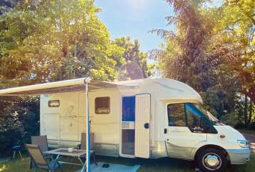 Hire a motorhome in Panketal from private owners| Ford Transit Bonnie