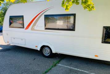 Hire a motorhome in Augsburg from private owners| Bürstner Bürsti