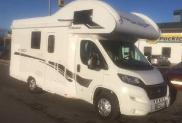 Hire a motorhome in Sontheim from private owners| XGO JJ-mobile