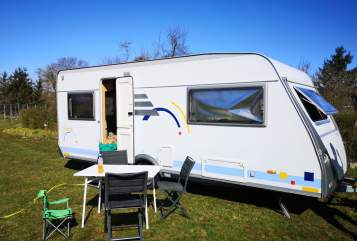 Hire a motorhome in Verden from private owners| Hymer Luise