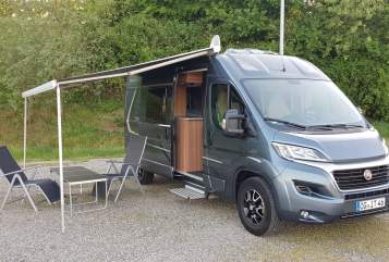 Hire a motorhome in Offenburg from private owners| Fiat Ducato SOLAR/TV/ AHK/