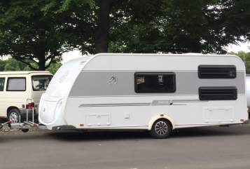 Hire a motorhome in Gudensberg from private owners| Knaus Knaus Südwind