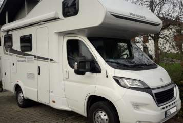 Hire a motorhome in Hergatz from private owners| Weinsberg Frederik