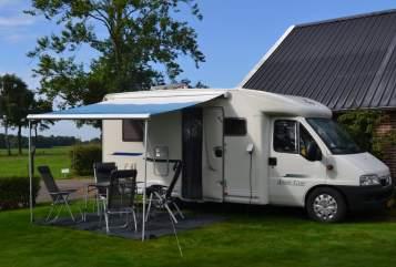 Hire a motorhome in Bathmen from private owners| Fiat  Camper te huur!
