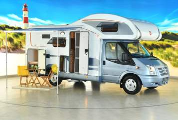 Hire a motorhome in Hamburg from private owners| Bürstner Kuddel
