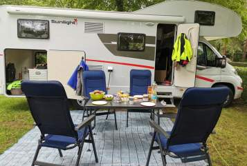 Hire a motorhome in Pilsach from private owners| Sunlight  Sunny*NEU*