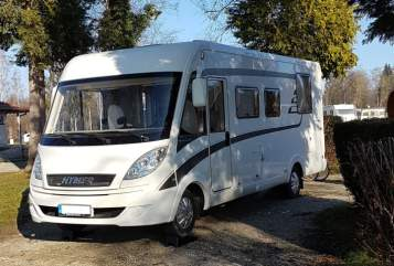 Hire a motorhome in Herne from private owners  Hymer REMO