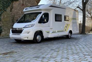 Hire a motorhome in Seegebiet Mansfelder Land from private owners| Hobby ( Free Living ) Sammy