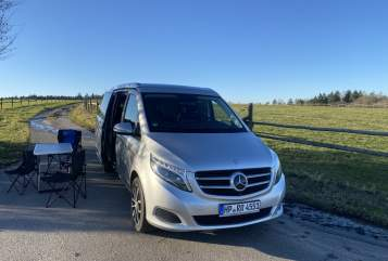 Hire a motorhome in Oberzent from private owners| Mercedes Benz DerOdenwaldBus