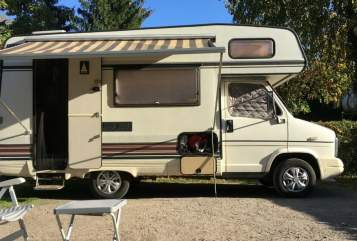 Hire a motorhome in Erkelenz from private owners| Fiat Günther