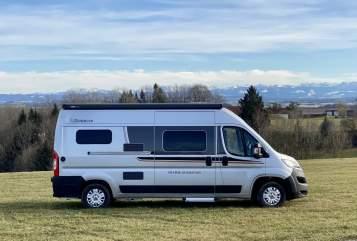 Hire a motorhome in Bad Wurzach from private owners  Pössl /Globecar camper-mieten