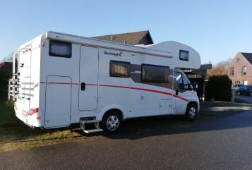 Hire a motorhome in Sörup from private owners| Capron Arne