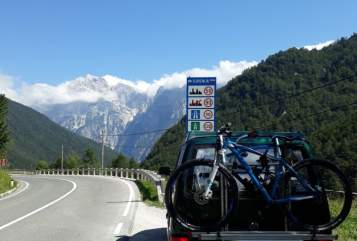 Hire a motorhome in Berchtesgaden from private owners| VW Gisbert