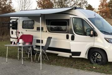 Hire a motorhome in München from private owners| Fiat / Pössl Pauline