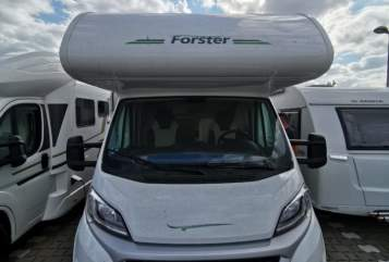 Hire a motorhome in Leipzig from private owners| Forster Maike-Mobil