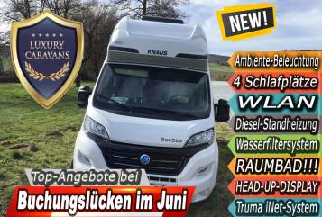 Hire a motorhome in Witzenhausen from private owners| Knaus LL20