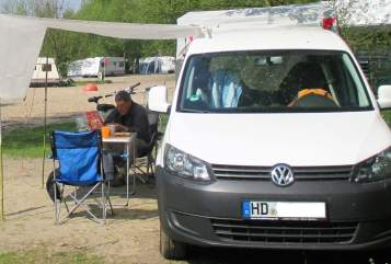 Hire a motorhome in Schriesheim from private owners| VW Caddy