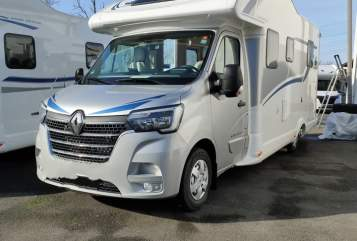Hire a motorhome in Mettingen from private owners| Ahorn 690 T New Face