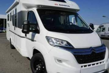 Hire a motorhome in Bockhorst from private owners| Adria Pronto