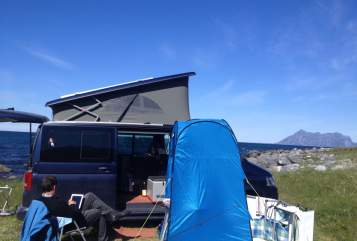 Hire a motorhome in Rosenheim from private owners  VW Der Chiemgauer