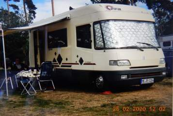 Hire a motorhome in Erkrath from private owners| Tabbert  Emma