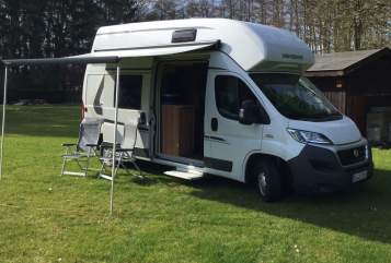 Hire a motorhome in Bielefeld from private owners| Fiat Knaus Tabbert Carabus 601 MQH