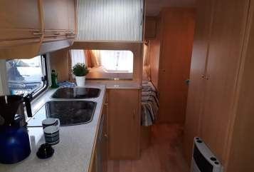 Hire a motorhome in Lilienthal from private owners| Wilk Wilma