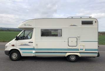 Hire a motorhome in Weinböhla from private owners  Mercedes  Henny