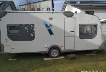 Hire a motorhome in Erbach from private owners  Knaus Knaus Eurostar