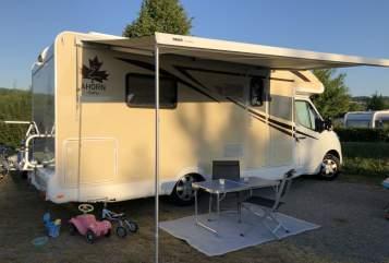 Hire a motorhome in Wasserburg am Inn from private owners| Ahorn  Cat Car II