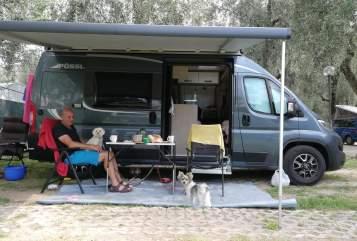 Hire a motorhome in Geisingen from private owners  Pössl Pössl