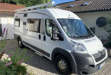 Hire a motorhome in Stephanskirchen from private owners  Pössl Bus
