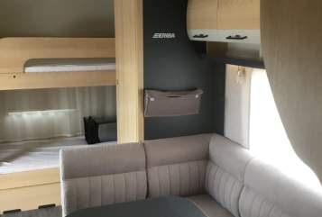 Hire a motorhome in Laichingen from private owners  Hymer Exciting 560 Hymer Family