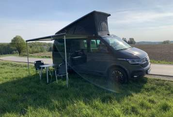Hire a motorhome in Wetter from private owners| VW CaliGrey 6.1