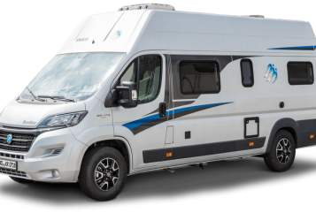Hire a motorhome in Oberstaufen from private owners| Knaus Blue Lagune