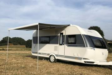 Hire a motorhome in Syke from private owners| Hobby Davids Camper