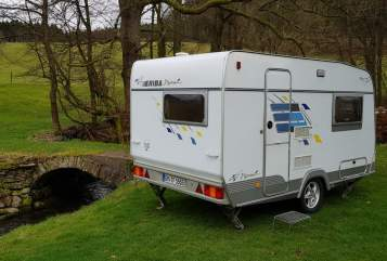 Hire a motorhome in Marienheide from private owners| Hymer Eriba Little Hymie