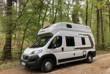 Hire a motorhome in München from private owners| Weinsberg Flynn