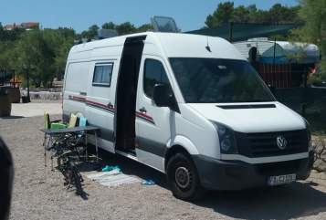 Hire a motorhome in Fulda from private owners| VW  Camper