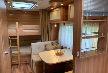 Hire a motorhome in Dresden from private owners| Hymer / Eriba August