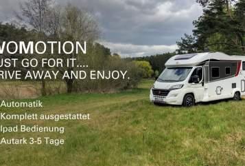 Hire a motorhome in Bernau bei Berlin from private owners| Bürstner WoMotion