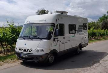 Hire a motorhome in Filderstadt from private owners  Hymer Liberty
