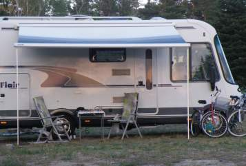 Hire a motorhome in Senftenberg from private owners| Fiat CAMP 780