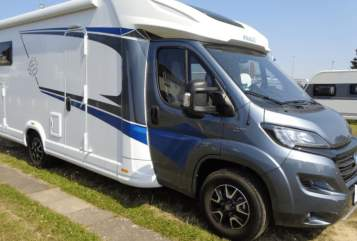 Hire a motorhome in Lorsch from private owners| Knaus Rumtreiber