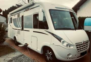 Hire a motorhome in Borchen from private owners| Pilote Fritz