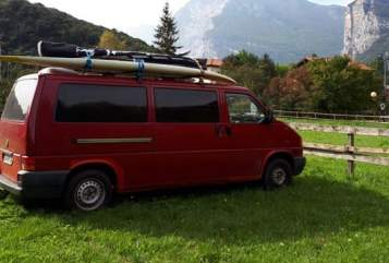 Hire a motorhome in Dippoldiswalde from private owners  VW T4 Wochenendbusi