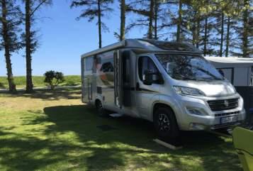 Hire a motorhome in Solingen from private owners  Bürstner Travel Van