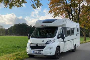 Hire a motorhome in Asendorf from private owners| Adria HeideMobil 2