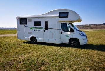 Hire a motorhome in Bad Saulgau from private owners| Forster Leo