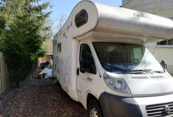 Hire a motorhome in Mittenwalde from private owners| Fiat Abenteurer